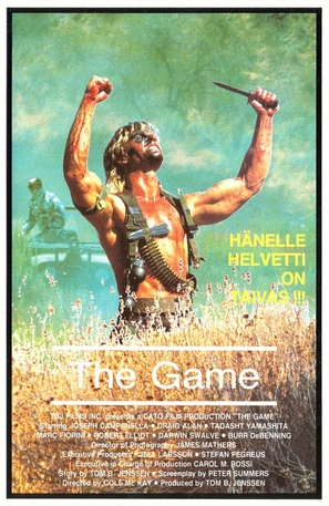The Game - Finnish VHS movie cover (thumbnail)