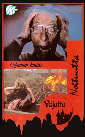 """Hammer House of Horror"" The Silent Scream - Finnish VHS movie cover (thumbnail)"