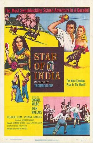 Star of India - British Movie Poster (thumbnail)