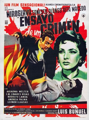 Ensayo de un crimen - Mexican Movie Poster (thumbnail)