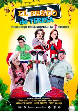 El Paseo De Teresa - Colombian Movie Poster (thumbnail)