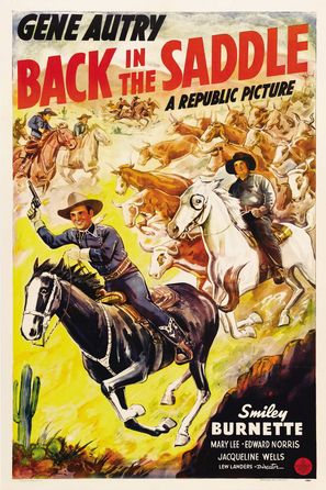 Back in the Saddle - Movie Poster (thumbnail)
