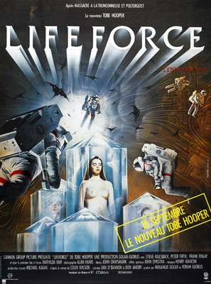Lifeforce - French Movie Poster (thumbnail)
