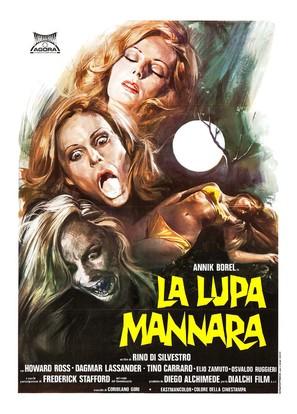 La lupa mannara - Italian Movie Poster (thumbnail)