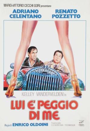 Lui è peggio di me - Italian Theatrical movie poster (thumbnail)