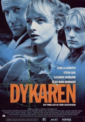 Dykaren - Swedish Movie Poster (thumbnail)