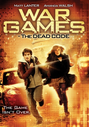 Wargames: The Dead Code - DVD cover (thumbnail)