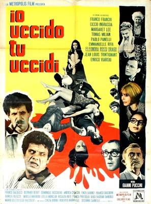 Io uccido, tu uccidi - Italian Movie Poster (thumbnail)