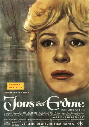 Jons und Erdme - German Movie Poster (thumbnail)