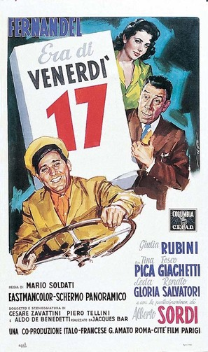 Era di venerdì 17 - Italian Movie Poster (thumbnail)