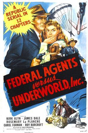 Federal Agents vs. Underworld, Inc. - Movie Poster (thumbnail)