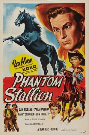 Phantom Stallion - Movie Poster (thumbnail)