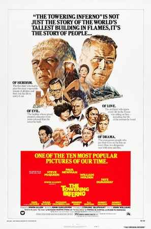 The Towering Inferno - Re-release movie poster (thumbnail)