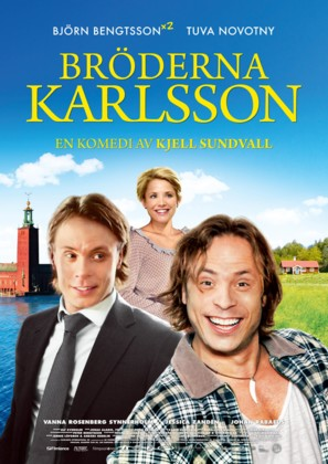 Bröderna Karlsson - Swedish Movie Poster (thumbnail)