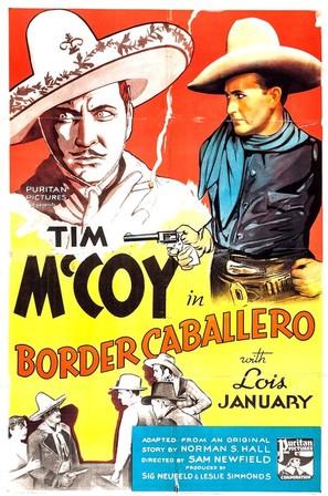 Border Caballero - Movie Poster (thumbnail)