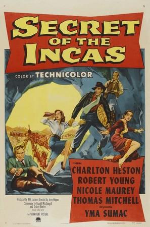 Secret of the Incas - Movie Poster (thumbnail)