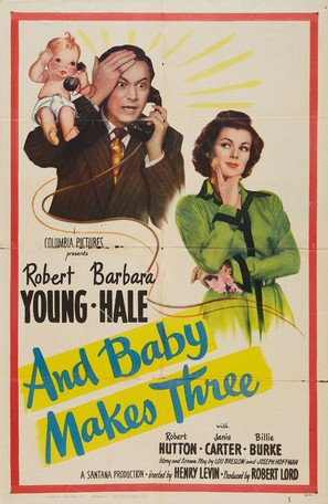 And Baby Makes Three - Movie Poster (thumbnail)