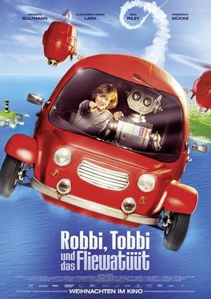 Robbi, Tobbi und das Fliewatüüt - German Movie Poster (thumbnail)