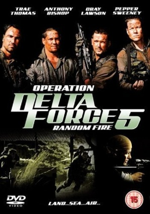 Operation Delta Force 5: Random Fire - British DVD cover (thumbnail)