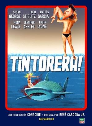 ¡Tintorera! - Mexican Movie Poster (thumbnail)