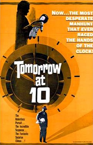 Tomorrow at Ten - British Movie Poster (thumbnail)