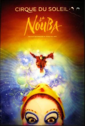 Cirque du Soleil: La Nouba - Canadian Movie Poster (thumbnail)