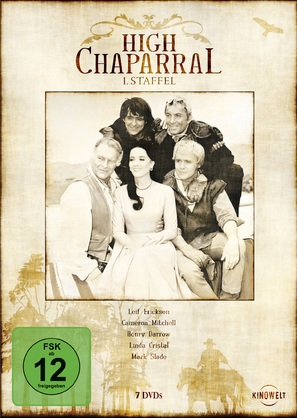 """The High Chaparral"" - German Movie Cover (thumbnail)"