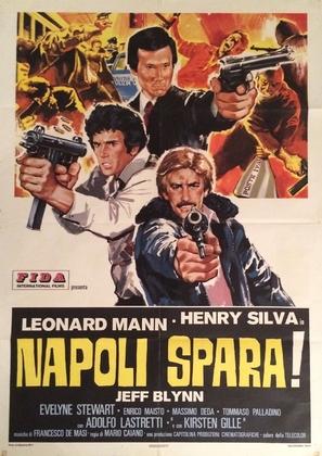 Napoli spara! - Italian Movie Poster (thumbnail)