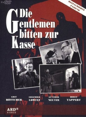 """Die Gentlemen bitten zur Kasse"" - German Movie Cover (thumbnail)"