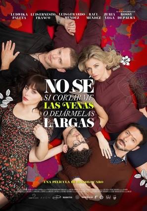 No sé si cortarme las venas o dejármelas largas - Mexican Movie Poster (thumbnail)