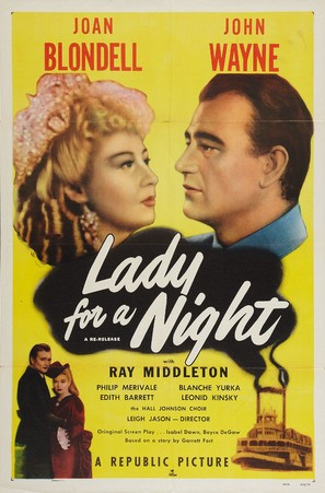 Lady for a Night - Re-release poster (thumbnail)