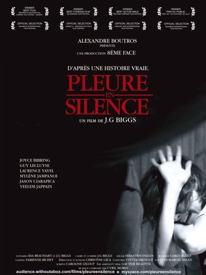 Pleure en silence - French Movie Poster (thumbnail)
