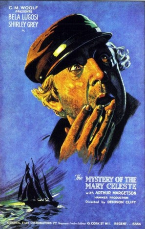 The Mystery of the Marie Celeste - British Movie Poster (thumbnail)