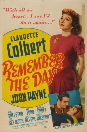 Remember the Day - Movie Poster (thumbnail)