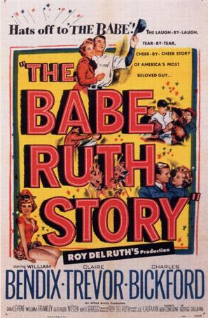 The Babe Ruth Story - Theatrical poster (thumbnail)