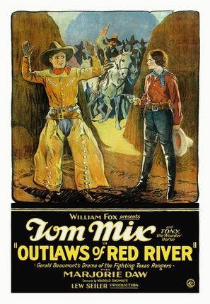Outlaws of Red River - Movie Poster (thumbnail)