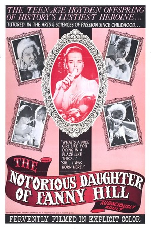 The Notorious Daughter of Fanny Hill - Movie Poster (thumbnail)