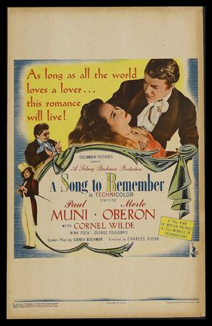 A Song to Remember - Movie Poster (thumbnail)