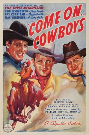Come On, Cowboys! - Movie Poster (thumbnail)