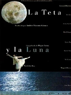 La teta y la luna - Spanish Movie Poster (thumbnail)