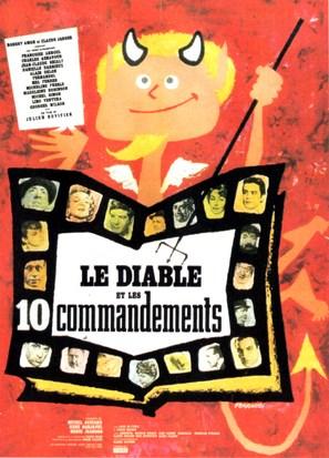 Le diable et les dix commandements - French Movie Poster (thumbnail)