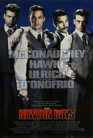 The Newton Boys - Movie Poster (thumbnail)