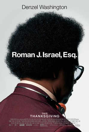 Roman J Israel, Esq. - Movie Poster (thumbnail)