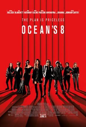 Ocean's 8 - Movie Poster (thumbnail)