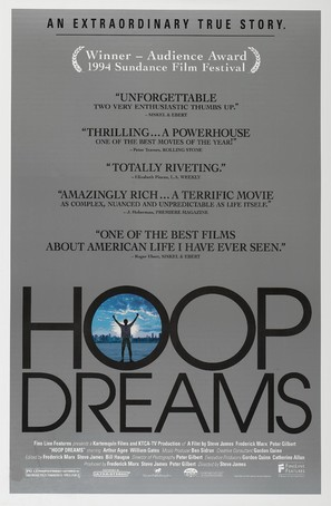 Hoop Dreams - Movie Poster (thumbnail)