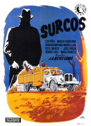 Surcos - Spanish Movie Poster (thumbnail)