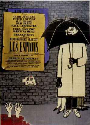 Les espions - French Movie Poster (thumbnail)