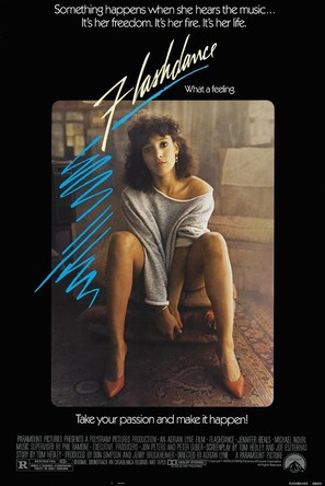 Flashdance - Movie Poster (thumbnail)
