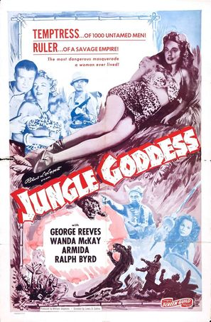 Jungle Goddess - Theatrical poster (thumbnail)