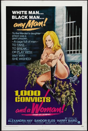 1000 Convicts and a Woman - Theatrical movie poster (thumbnail)